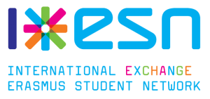 Logo de l'ESN : International Exchange Erasmus Student Network 1