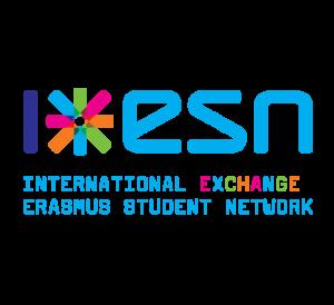 Logo de l'ESN : International Exchange Erasmus Student Network 2