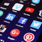 Image représentant les logos des médias sociaux principaux pour community management