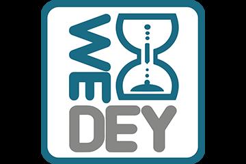 Logo de WEDEY, calendrier connecté. Dans le cadre de la création d'entreprise fictive