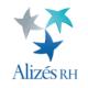 Logo Alizés Rh qui représente 3 étoiles de couleur avec le texte
