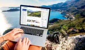 Header Landing page Nicolas Burdet PC photoshop montagne