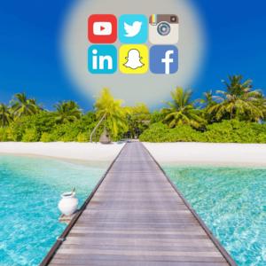 Header Landing page Nicolas Burdet plage réseaux sociaux